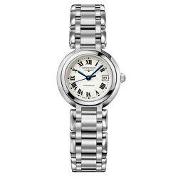 LONGINES 浪琴 L81114716 優雅羅馬新月機械腕錶/白面26.5mm