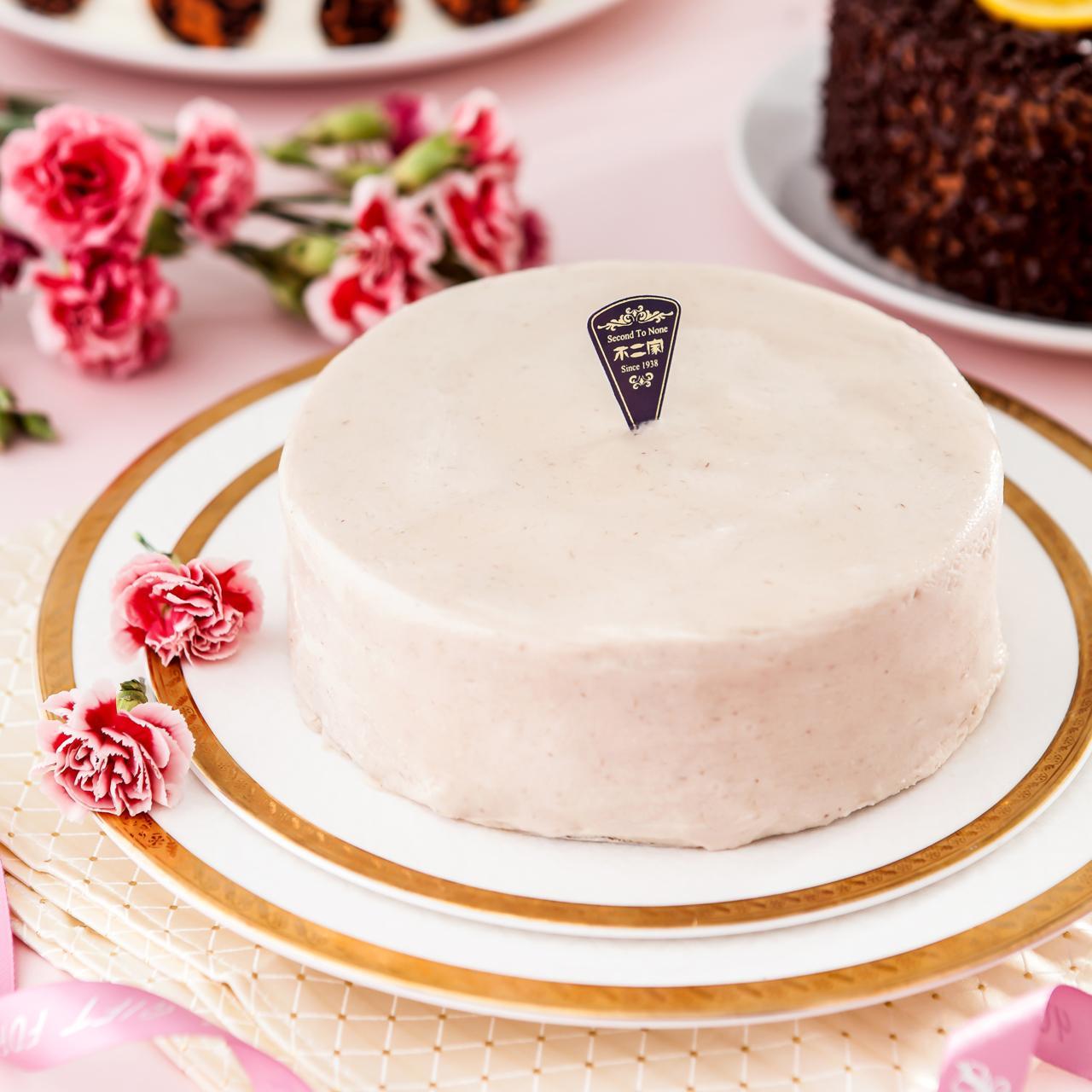[超人氣經典]6吋真濃芋重乳酪蛋糕[不二緻果 原高雄不二家]港都80年老店