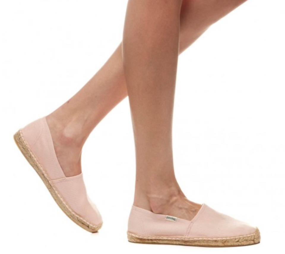 【Soludos】美國經典草編鞋-基本款草編鞋-粉 5
