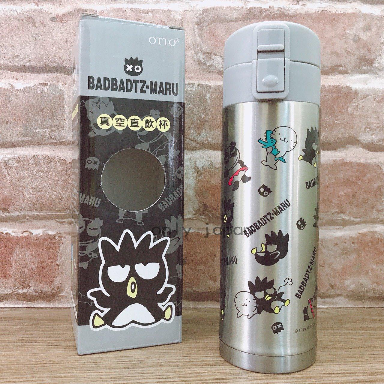 【真愛日本】18021300010 真空直飲杯420ML-XO 三麗鷗家族 酷企鵝 XO 日用品 水瓶 保溫瓶
