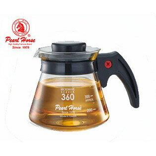 ~✬啡苑雅號✬~寶馬牌 塑膠柄耐熱壺 玻璃壺/咖啡壼 TA-G-07-360 360c.c