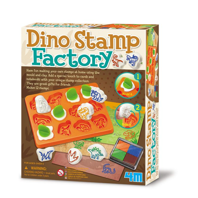 ~4M 美勞創作~恐龍印章創作 Dino St Factory