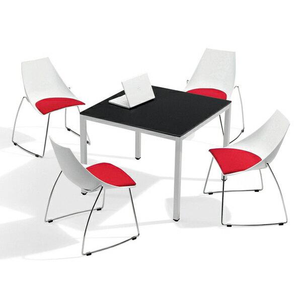 美耐板面洽談桌 90 x 90 x 74 公分 2013~B~58~1