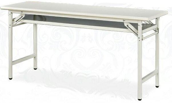 905檯面板折合會議桌 45x120公分 2013-B-67-7
