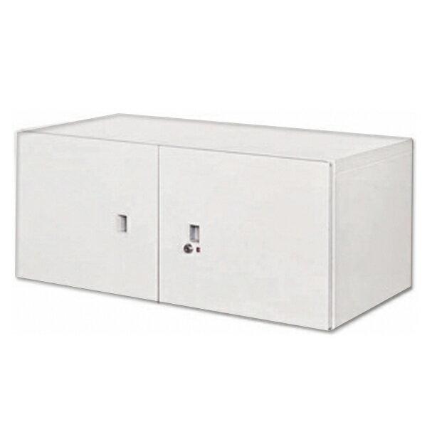雙開門上置式鋼製公文櫃 90 x 45 x 32.2 公分 2013~B~103~4