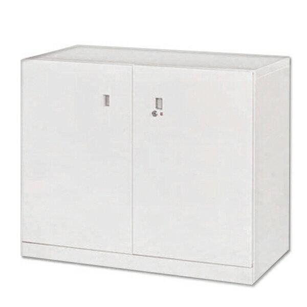 雙開門下置式鋼製公文櫃 90 x 45 x 74 公分 2013-B-103-6