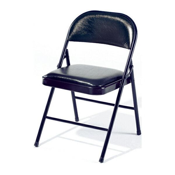 【 IS空間美學】黑色皮合椅 2013-B-191-12