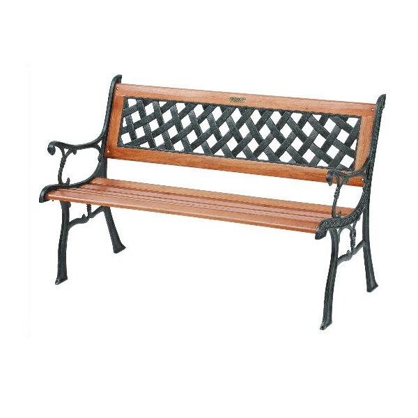 【 IS空間美學 】編織公園椅(鑄鐵)
