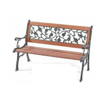 【 IS空間美學 】小玫瑰公園椅(鑄鐵)
