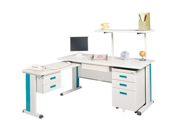 IS 空間美學:【IS空間美學】KD160L型主管桌