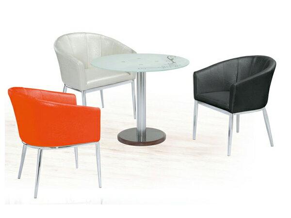 【IS空間美學】《圓桌椅組 》◇一桌三椅◇ 2015-A-307-3