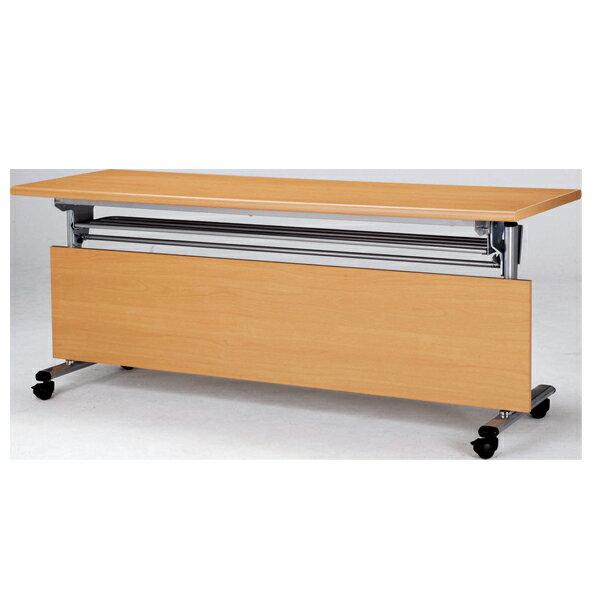 檯面可掀式會議桌 . 掛式前擋 180 x 60 x 74 公分 2013-B-63-1