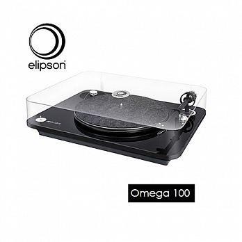 【靜態展示 全新可來電詢問】ELIPSON OMEGA-100 黑膠 唱盤 唱機  黑色