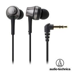 [富廉網] 鐵三角 ATH-CKR50 高音質密閉型耳塞式耳機 (黑色)