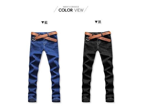 ☆BOY-2☆【NZK05】潮流素面窄管牛仔褲 1