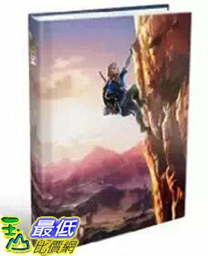[106美國直購] 2017美國暢銷書 The Legend of Zelda:Breath of the Wild:The Complete Official Guide Collector's Edition