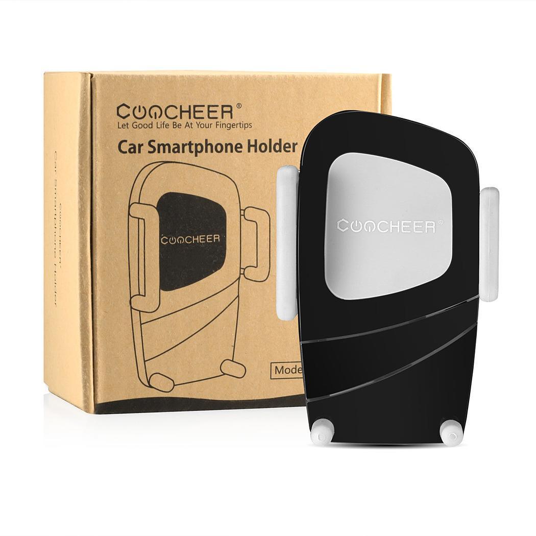 Air Vent Dashboard Windshiled Mount Car Smartphone Holder Mount Black Color 5
