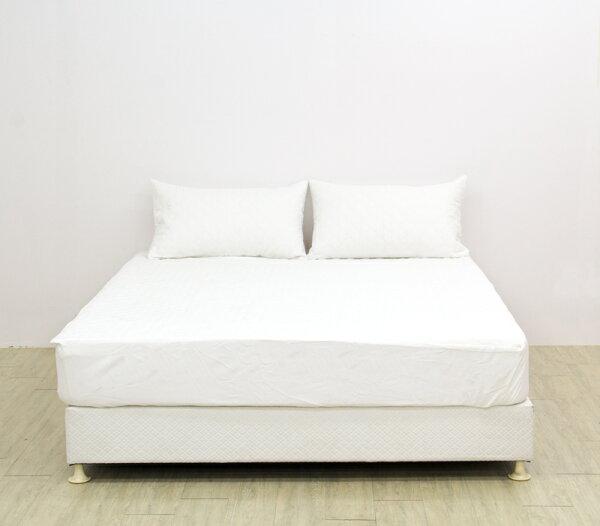 【白色】鋪棉防水透氣保潔墊