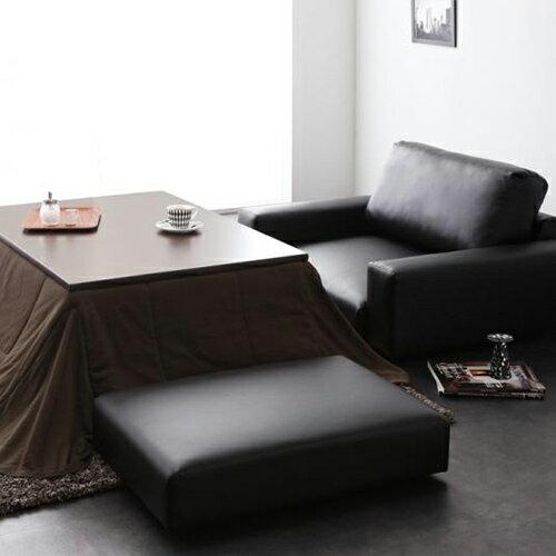 JP Kagu 日系皮質落地沙發椅凳^(二色^)