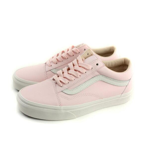 VANS帆布鞋休閒鞋粉紅色女鞋182010534no507