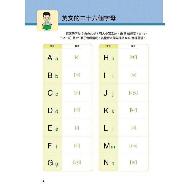 我的第一本英文課本:專為華人設計自學教學都好用的全年齡英文學習書(附母語人士發音MP3) 2