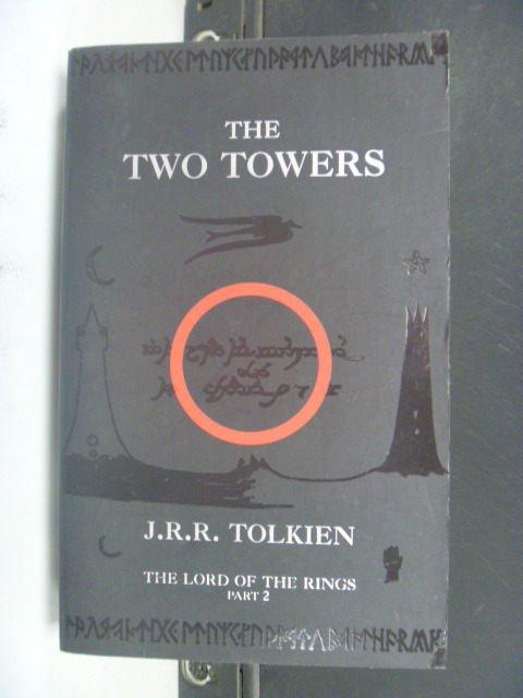 【書寶二手書T9/原文小說_KLU】The Two Towers_J. R. R. Tolkien