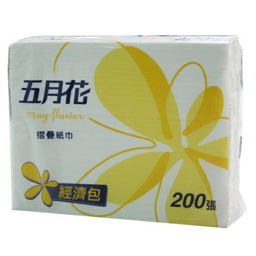 【五月花 紙巾】三折摺疊紙巾/擦手紙/餐巾紙/衛生紙