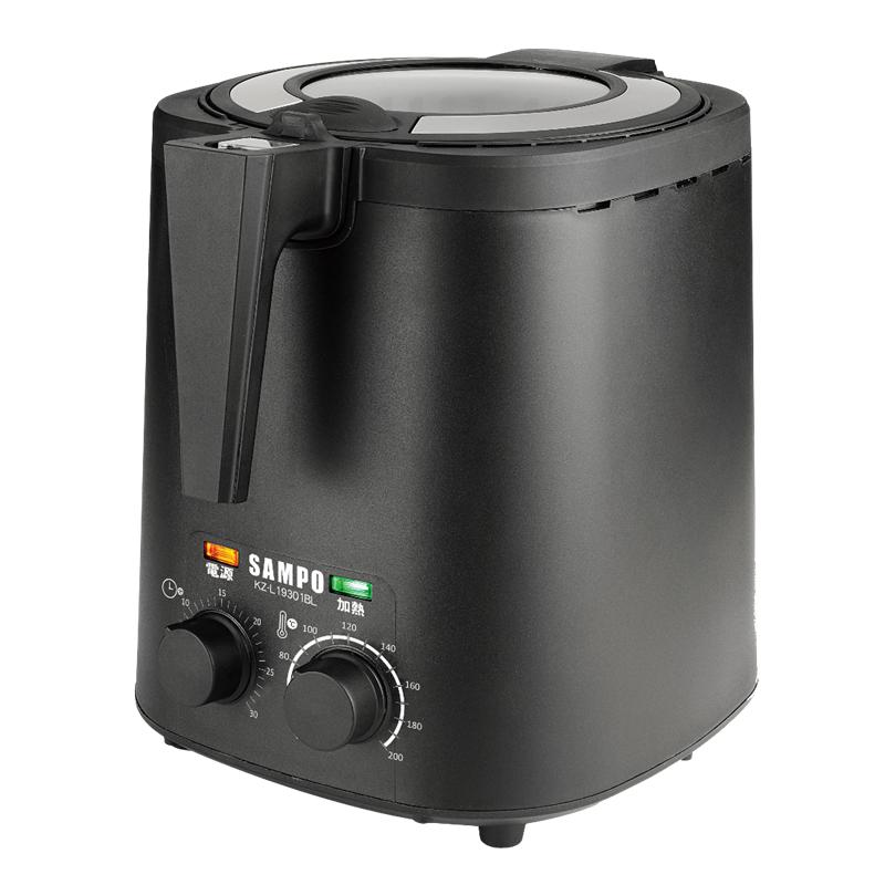 【聲寶】3公升健康油切氣炸鍋 透明上蓋 大功率 定時 溫控 KZ-L19301BL 保固免運