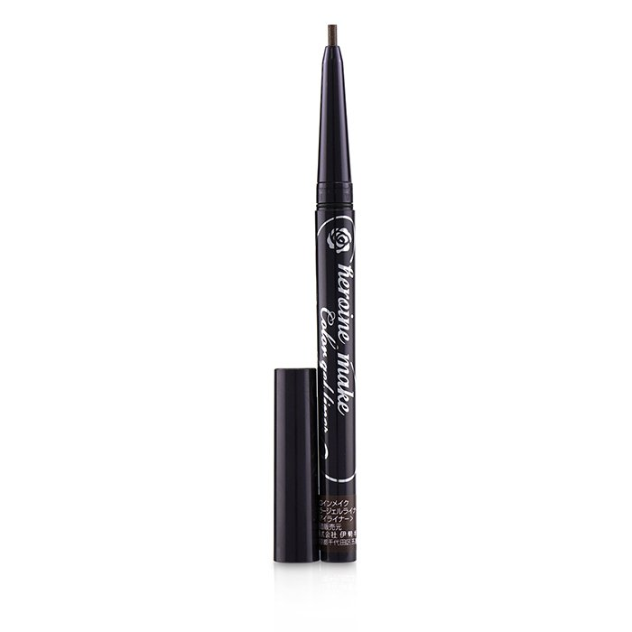 KISS ME Heroine Make Color Gel Liner Super Waterproof - # 04 Deep Brown 0.1g 0.004oz