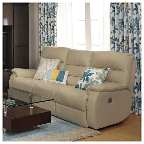 ◎(OUTLET)全皮3人用頂級電動可躺式沙發 BELIEVER MO 福利品 NITORI宜得利家居 5
