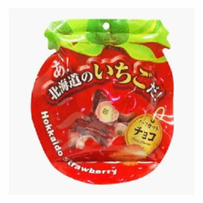 北海道夕張哈密瓜草莓巧克力