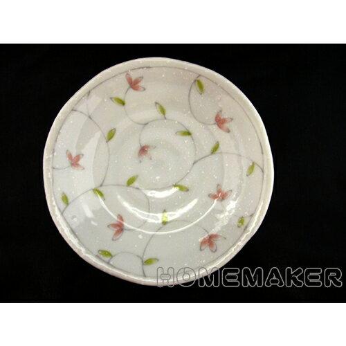 綠芽小花盤D16.5cm_JK-13675