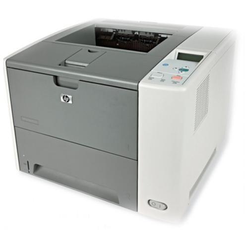 HP LaserJet P3005N Laser Printer - Monochrome - 1200 x 1200 dpi Print - Plain Paper Print - Desktop - 33 ppm Mono Print - Letter, Legal, Executive, A4, A5, B5 (JIS) - 600 sheets Standard Input Capacity - 100000 Duty Cycle - Manual Duplex Print - Ethernet 1