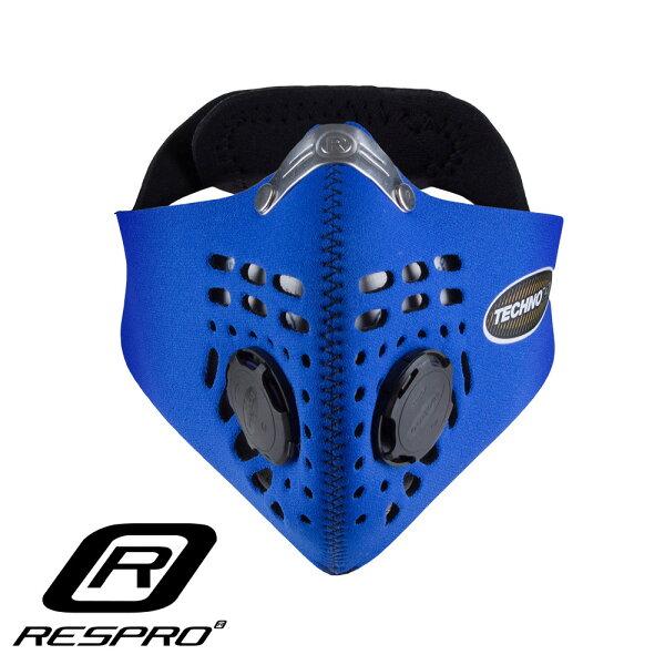 英國RESPROTECHNO防霾競速騎士口罩(藍色)