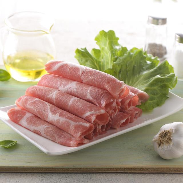 神農家香豬-梅花肉片 300g ;火鍋、燒烤、煮炒皆宜