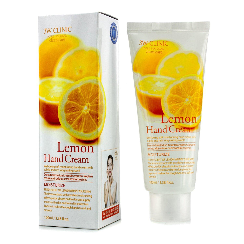 3W Clinic - 護手霜 - 檸檬Hand Cream - Lemon
