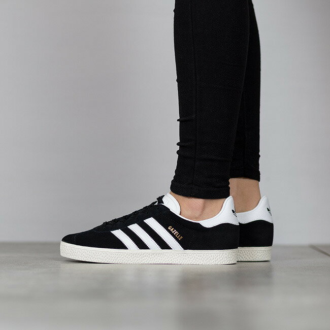 ADIDAS ORIGINALS GAZELLE 經典款 黑白 金 女鞋 US Y4~7 BB2502 E