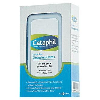 【Cetaphil 舒特膚 】溫和多效潔膚棉 25片 / 盒 - 限時優惠好康折扣