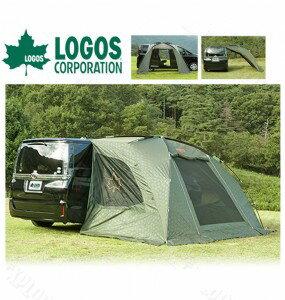 【露營趣】中和安坑 LOGOS LG71807009 NEOS 車邊帳 輕型車邊帳 客廳帳 露營帳 吸盤吊掛式
