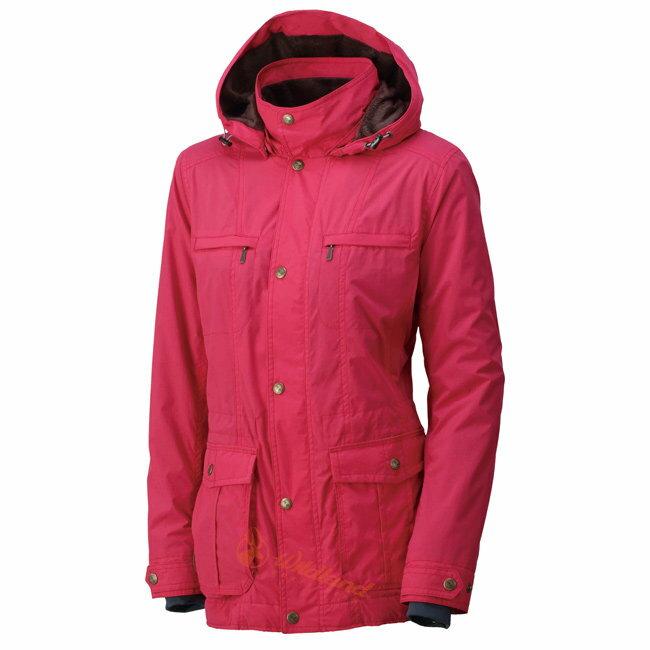 【速捷戶外】台灣Wildland 荒野0A32907-20玫瑰紅 女 絲絨時尚防風保暖外套(防寒夾克/輕量夾克)