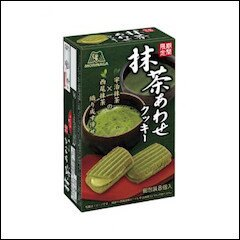 日本*森永抹茶夾心餅乾 92.8g