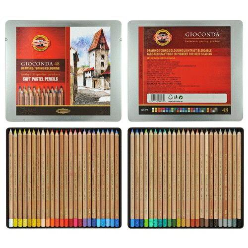 捷克製KOH-I-NOR 48C 專家級粉彩色鉛筆 *8828048