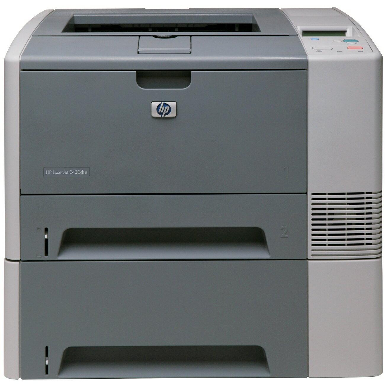 HP Laserjet 2430DTN Laser Printer 0