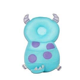 【紫貝殼】迪士尼(Disney)寶寶護頭背包 -毛怪