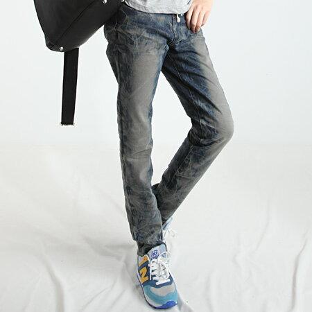 里奈子 Li-nagi:LINAGI里奈子精品【K567-93-95】簡單隨性休閒小腳褲腰間彈力鬆緊綁帶設計舒適牛仔褲