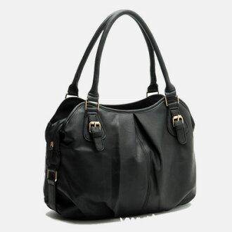 LINAGI里奈子精品【AP771-31-88】簡約流行個性風內點點內襯拉鍊袋暗袋磁釦拉鍊手提包