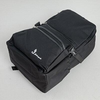 LINAGI里奈子精品【H709-62-58】亮麗大方鮮艷風雙側卡榫釦可放A4/筆電夾層拉鍊帆布後背包