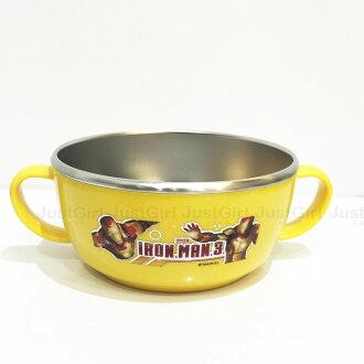 鋼鐵人 LILFANT 兒童碗 隔熱碗 雙耳304不鏽鋼 285ml 餐具 韓國製 正版韓國進口 JustGril