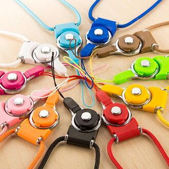 指環多功能手機掛繩 可拆式 手機吊繩 手機鏈 頸掛繩 證件帶 識別證【N202089】