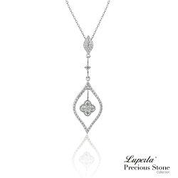 大東山珠寶 宇宙繁星 璀璨晶鑽純銀項鍊